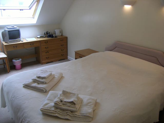Double en suite privately accessed room S.W. Wales - Llanteg - ゲストハウス
