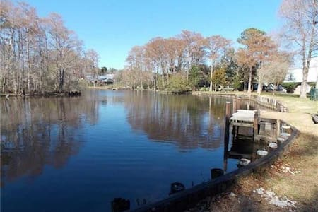 Bayou Bonfouca Waterfront Condo - Slidell - Appartement