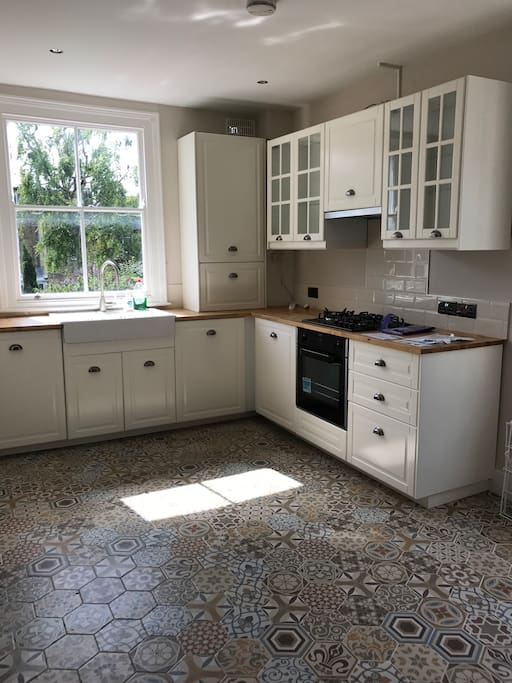 A Nice and Bright Kitchen, All is new