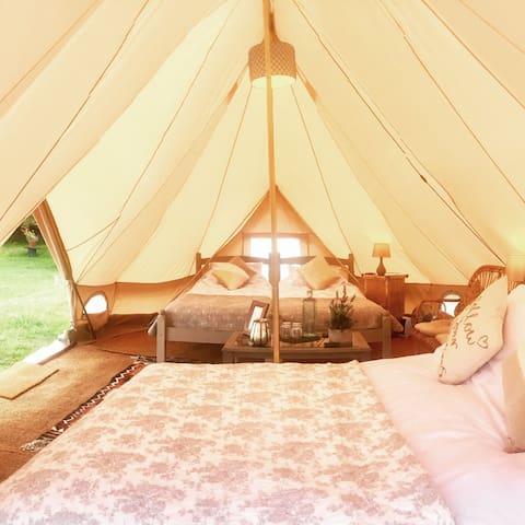 'Dandelion' Luxury Emperor Bell Tent
