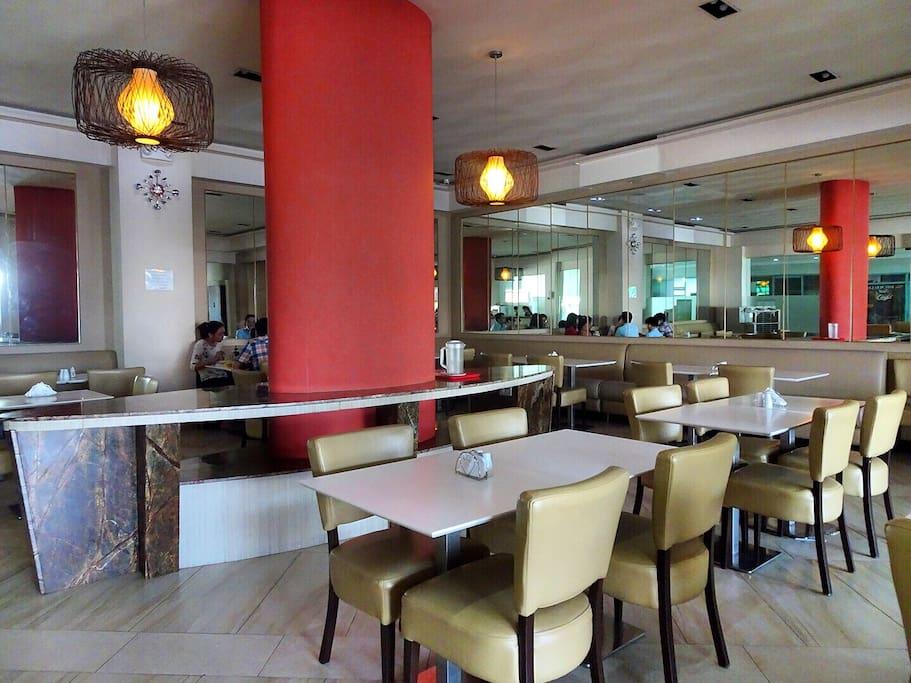 Chef's Manila Restaurant located at the lobby
