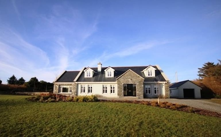 Ballinakill Lodge, Moyard - Moyard - Casa