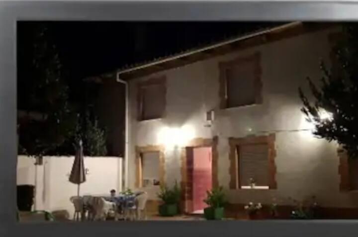 Una casa para descansar en Santervás de la Vega