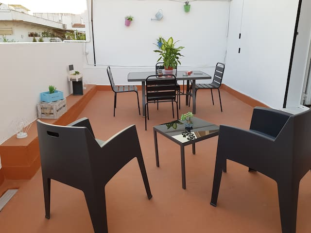 Seville center private bedroom