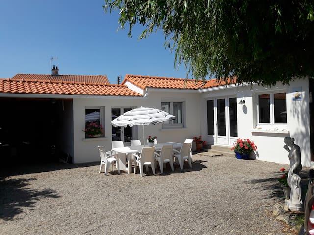 maison de vacances Noirmoutier  jolie situation