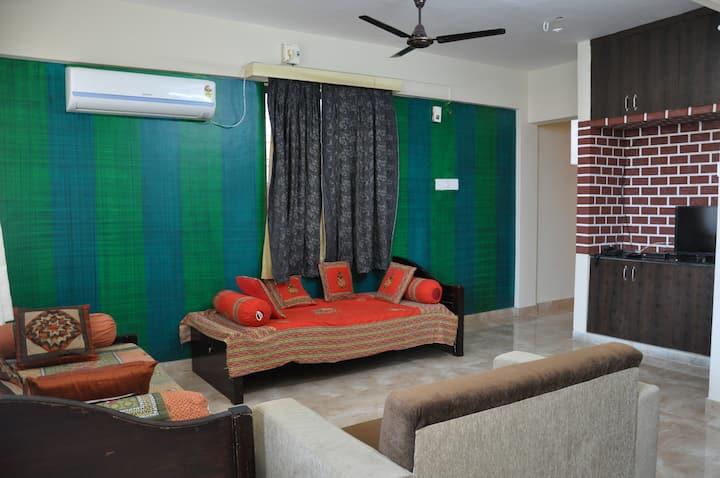 Vidya's 1 BHK AC Apartment