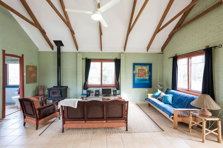 lounge with futon