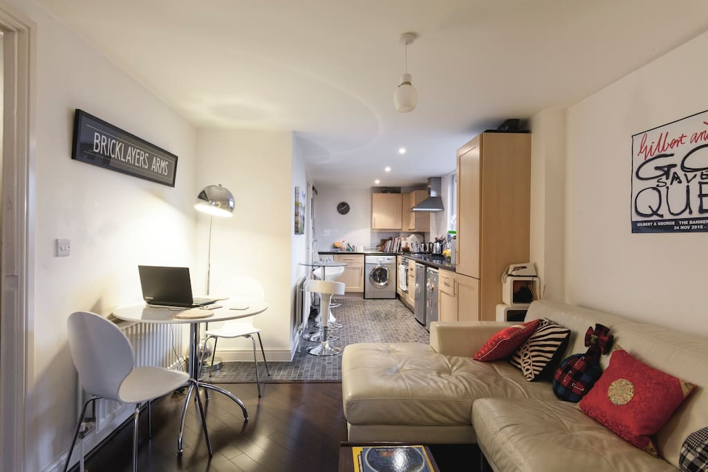 Open plan living in your friendly London home from home.