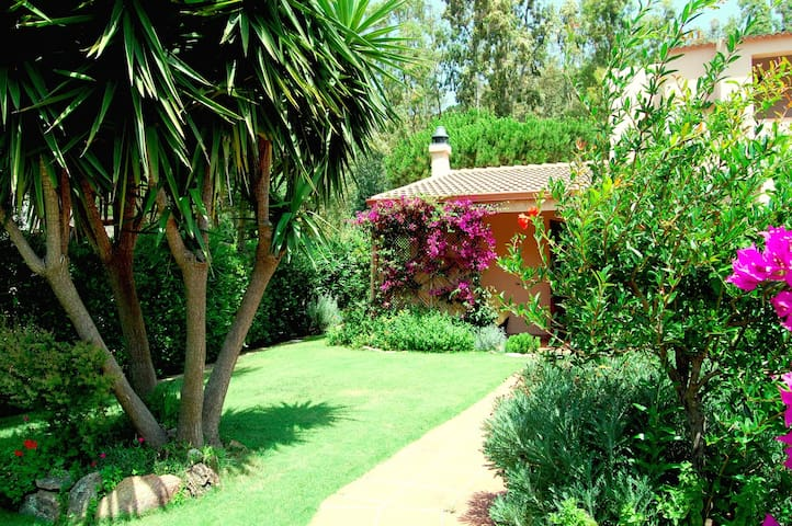 independent house with garden 200mt from the beach - Teulada
