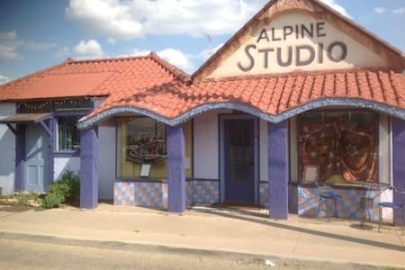 """""""Alpine Studio"""" dtown Alpine, Marfa - Alpine"""