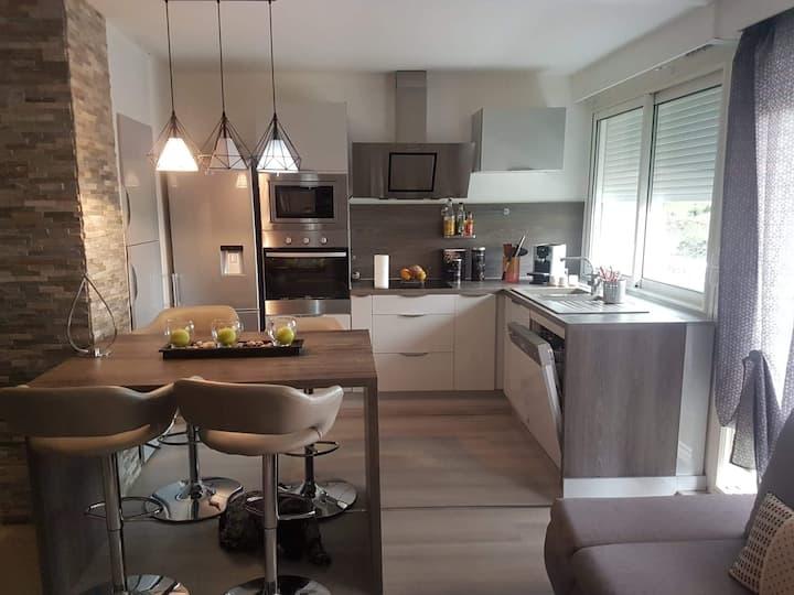 Appartement 3 chambres + terrasse proche Tricastin