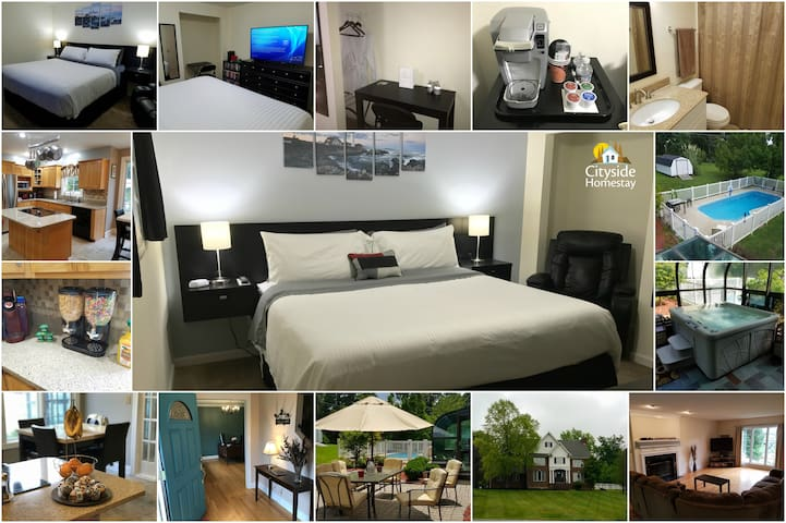 Livid Lighthouse Room (King) | Personal Bathroom - Elizabethtown - Hus