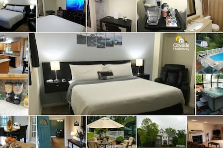 Livid Lighthouse Room (King) | Personal Bathroom - Elizabethtown - Casa