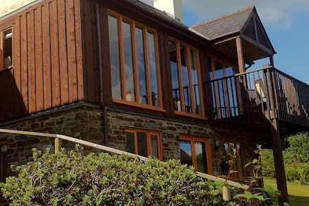 Scandi style lodge in beautiful Cornwall - Saint Mellion - บ้าน