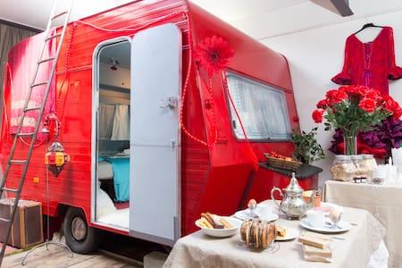 Caravan(Pavilion)in Theatre-Atelier - Antwerpen