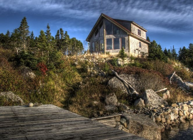 Stunning Oceanfront near Halifax - West Pennant - House