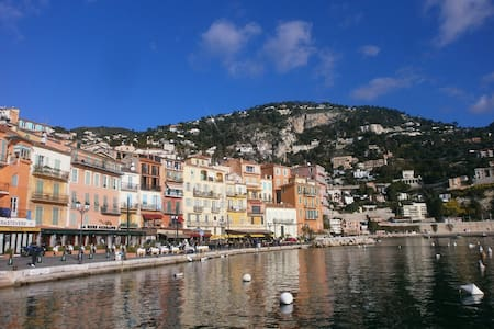 Beautiful 2 bed-Old Town-Near Sea - Villefranche-sur-Mer - Wohnung