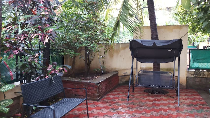 Exclusive corner Row House with pvt terrace area.
