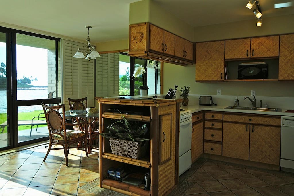 Our Hawaiian decor kitchen