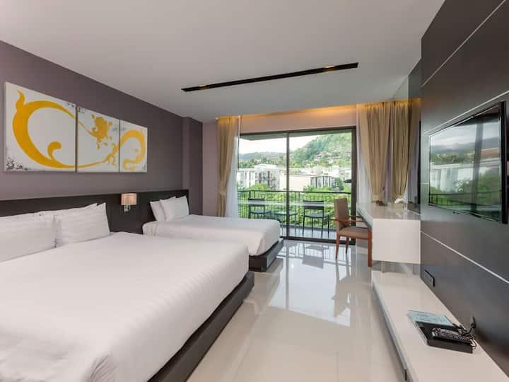 Studio 45 sq.m. - The Charm Resort Patong Beach