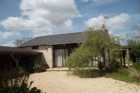 Outhouse with big garden and covered swimming pool - Varennes-sur-Loire