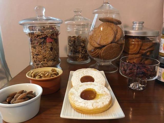 A casa di Robby, camera e ottima colazione