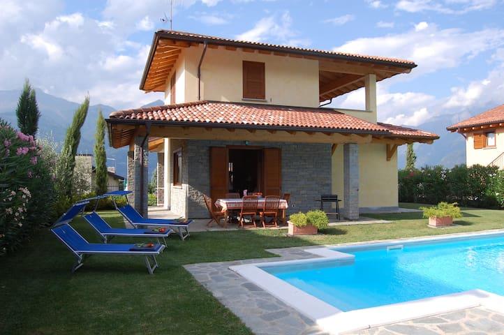 Villa Sogni, private sauna whirlpool swimming pool