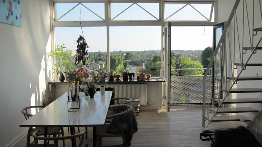 Architecture close to Copenhagen city & to nature - Charlottenlund - Apartamento