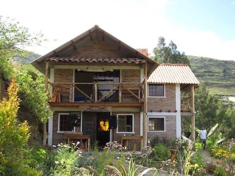 """Eco Granja """"El Refugio"""", Pimampiro - Ecuador"""