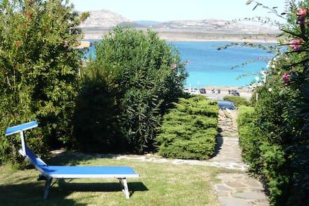 """Private villa with garden facing the """"Pelosa Beach - Stintino"""