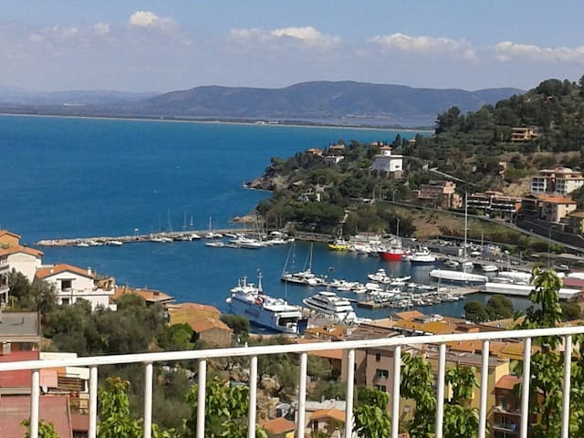 Ocean View Four Bedroom Villa at Porto St. Stefano