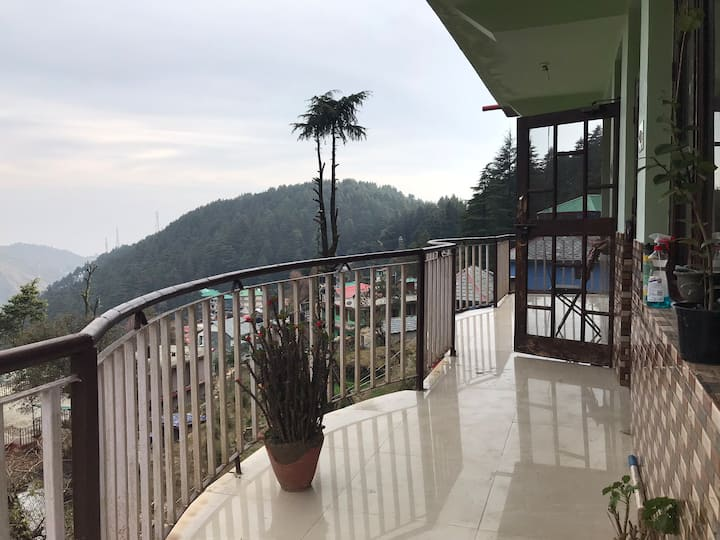 Tripzlabs Cool pad in the mountains of Dharamkot