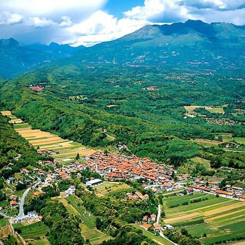 Vista panoramica sulla Serra Morenica
