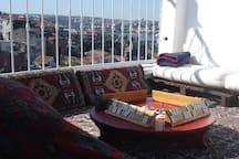 wann play? (on the terrace)