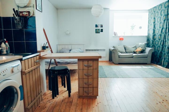 Studio style flat in the trendy Kalamaja area