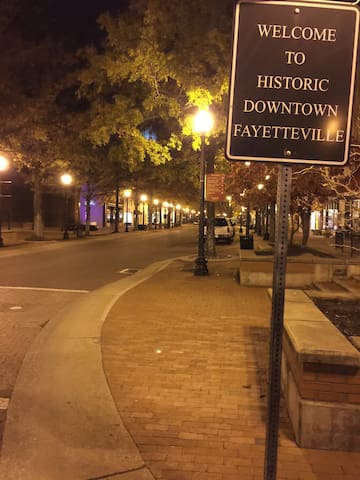 Visit Historic Downtown and Enjoy the Nightlife!
