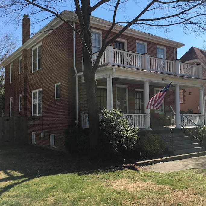 Historic Brookland Park Home - solid brick home with front and back porches.  Wonderful neighborhood with fantastic neighbors.  House was build in 1928.