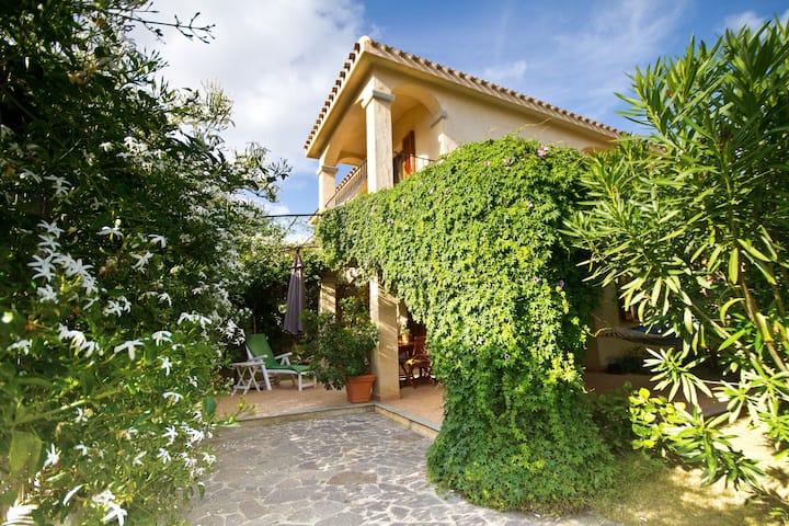Stylish house&garden, wonderful sea