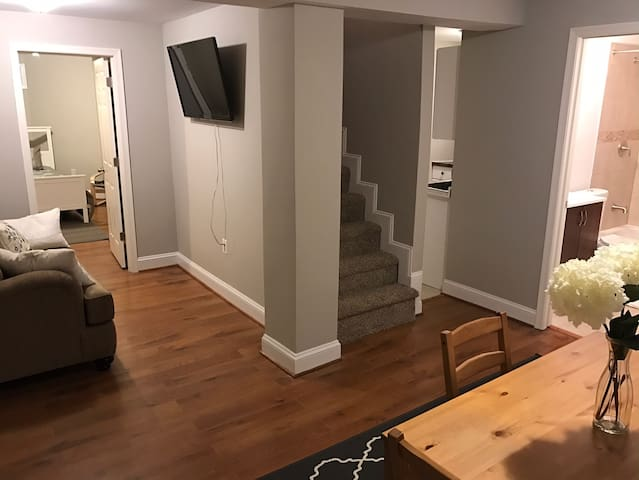 Apartment near Cheverly Metro/DC - Cheverly - Huis