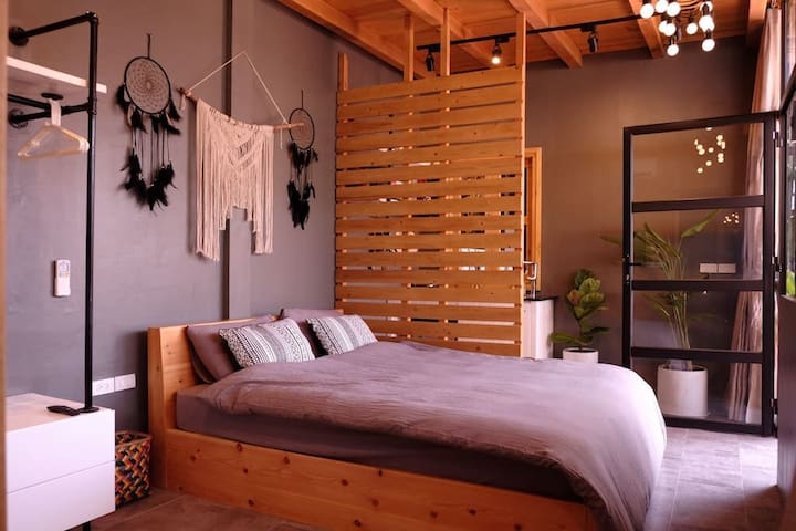 Sleeping area: Soft and Sweet bed