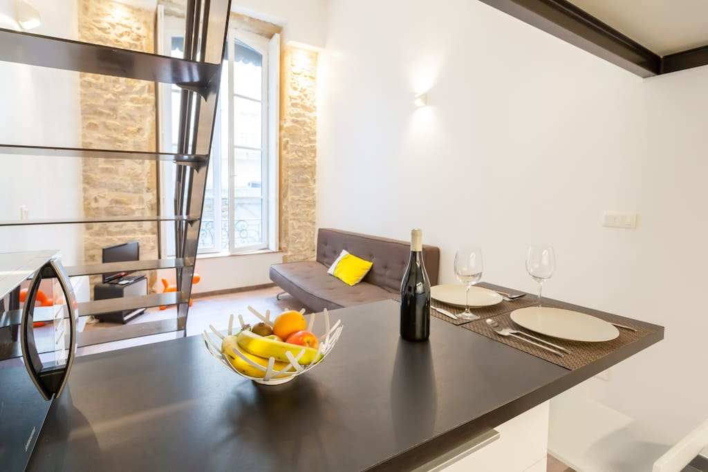 Charming duplex inthe heart of Lyon