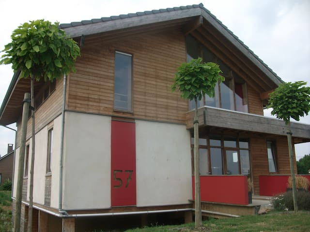 Strawbale vacationhouse - Tongeren/Maastricht - Riemst