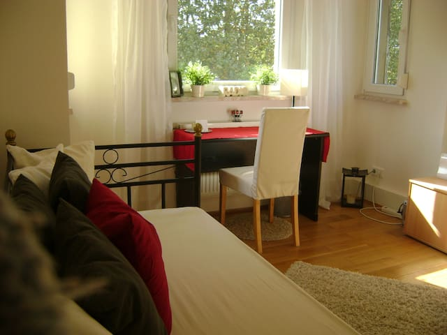 Cozy room w/ a view near Frankfurt - Offenbach