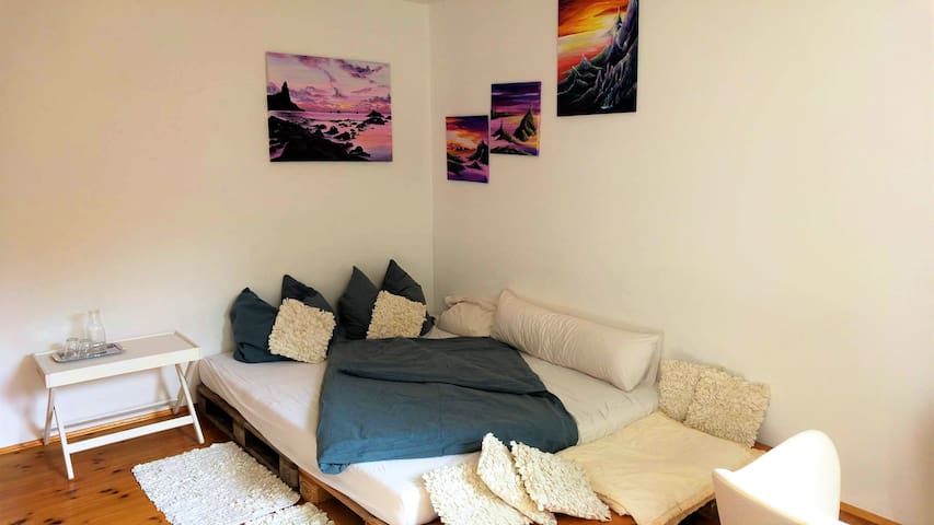 Wohlfühl-Zimmer mit eigenem Bad am Wörthsee