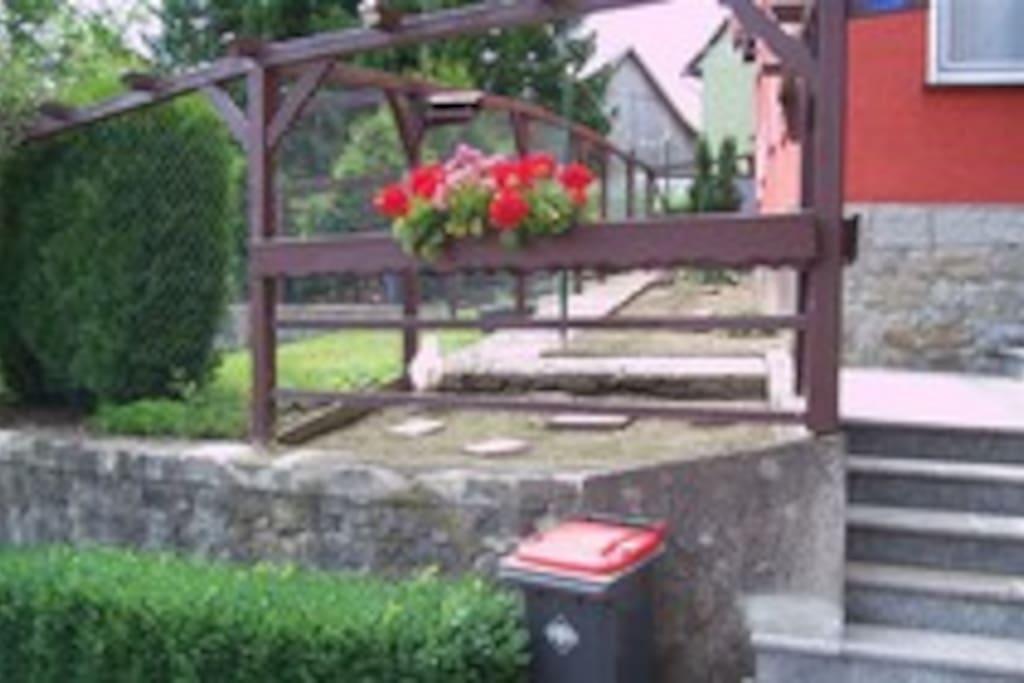 Eingang/Garten