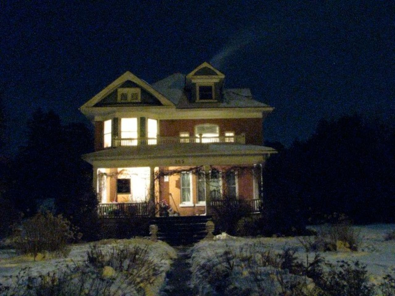 Historic Home on the Thessalon River.  Two short blocks to Lake Huron.