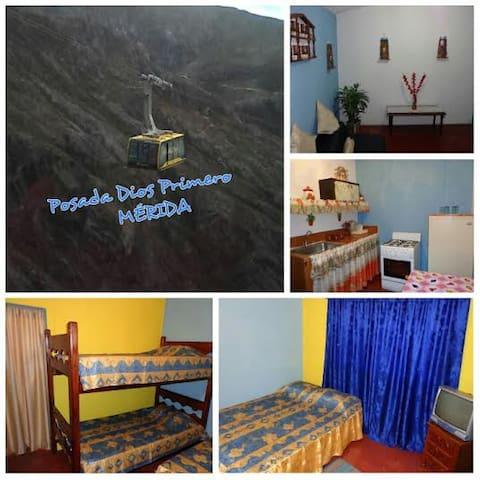 Posada Familiar Dios Primero en Mérida-Venezuela - Mérida - House