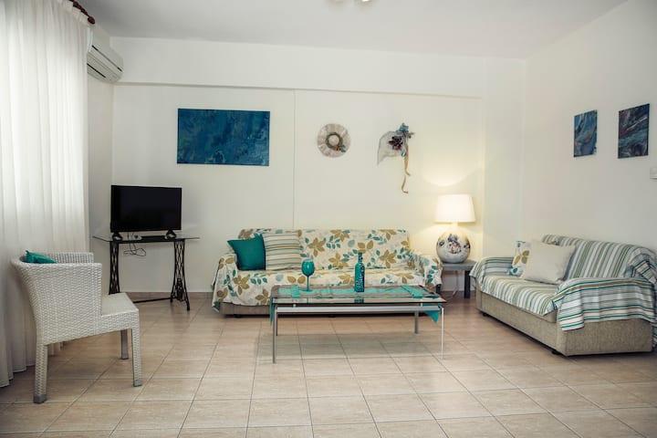 Menexe Appartments - Kelyfos (Shell)