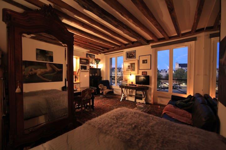 Gorgeous loft with river views! - Paris - Apartamento