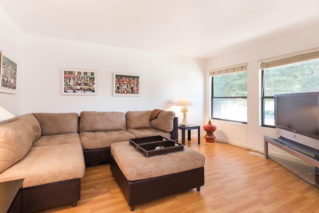 Living room for house #1